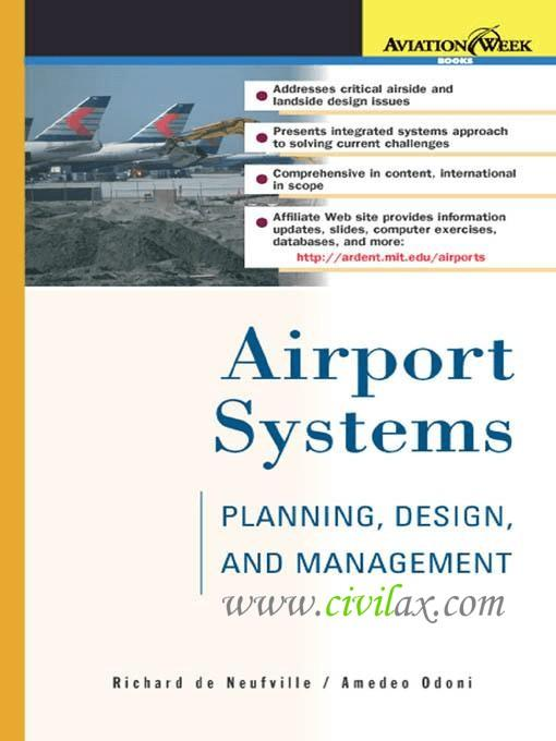 Airport Systems Planning Design And Management Civil Engineering Community