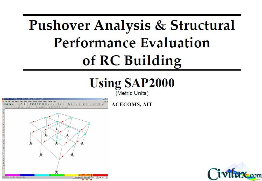 Pushover Analysis & Structural Performance Evaluation of RC Building using SAP2000