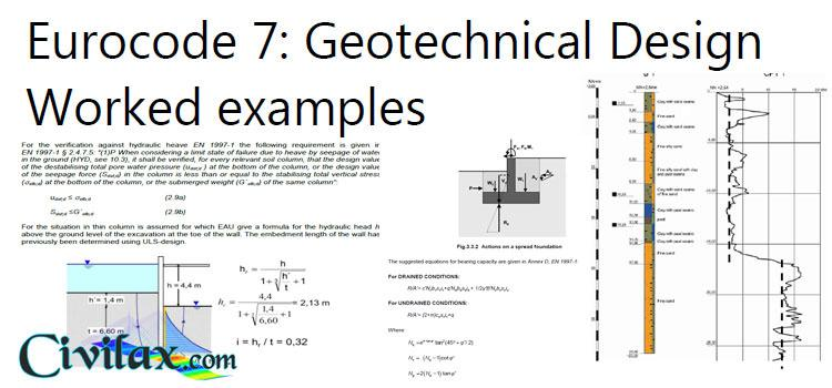 Eurocode 7 Geotechnical Design With Worked Examples