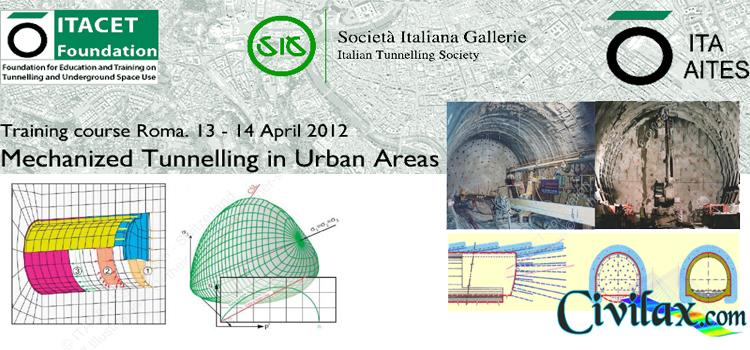 Training Course on Mechanized Tunnelling in Urban Areas