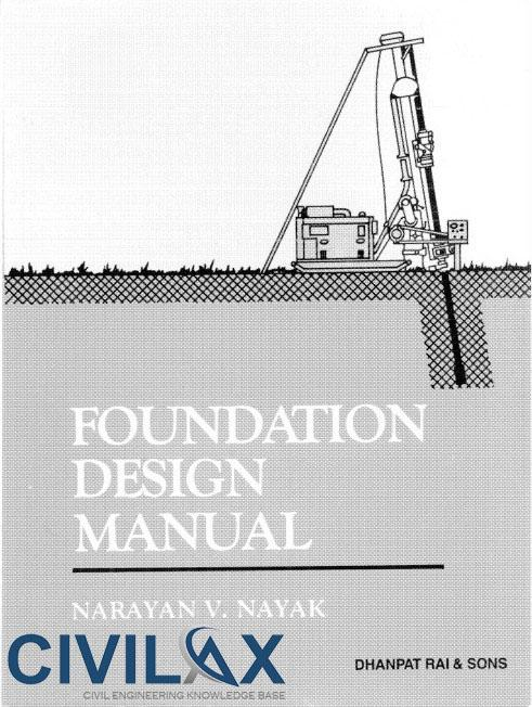 Foundation Design Manual for Practising Engineers and Civil Engineering Students
