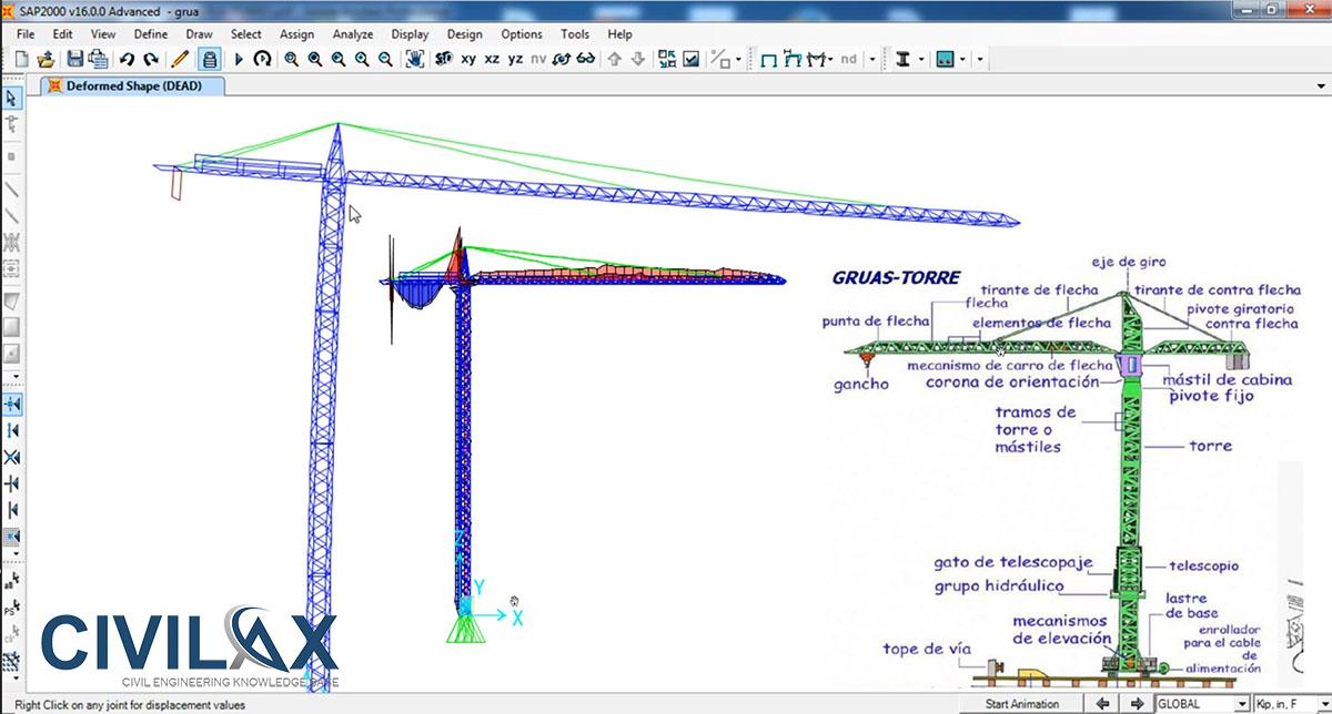 finite element analysis of a tower 2010-10-12  bridges tower including base connection anchor bolts  in a finite element nonlinear seismic analysis is  finite elment model (1) tower.