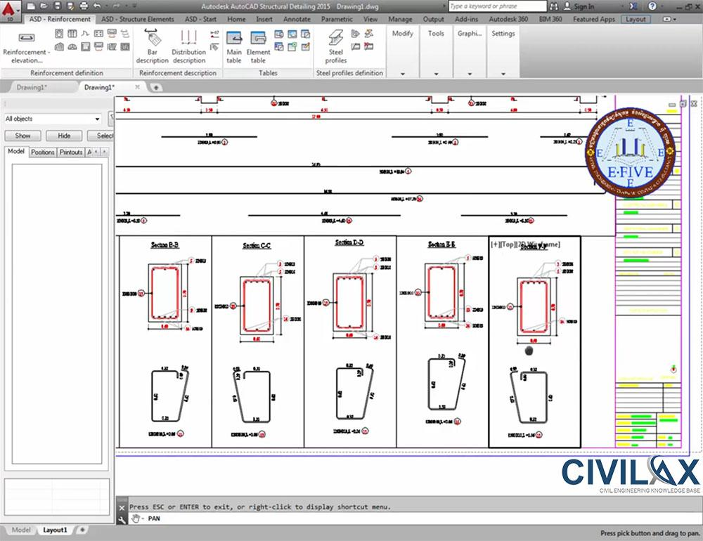 How to plot plan in autocad structural detailing civil for How to make a plot plan