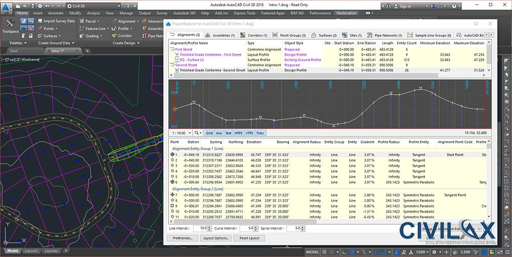 3AM ProjectExplorer for AutoCAD Civil 3D v2.1.0.0