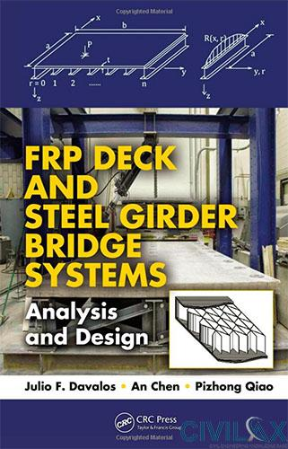 FRP Deck and Steel Girder Bridge Systems- Analysis and Design