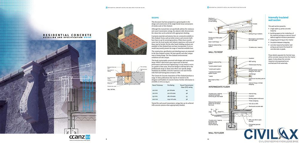 Residential Concrete- Detailing and Specification Guide