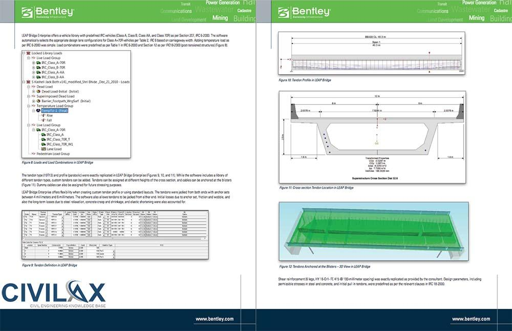 Analysis and Design of Prestressed Concrete Box Girder Bridges