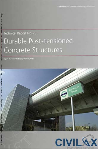 Durable Post Tensioned Concrete Structures