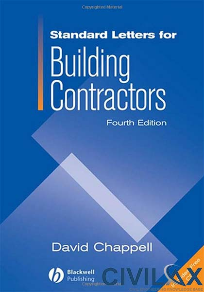Standard Letters for Building Contractors, 4th Edition