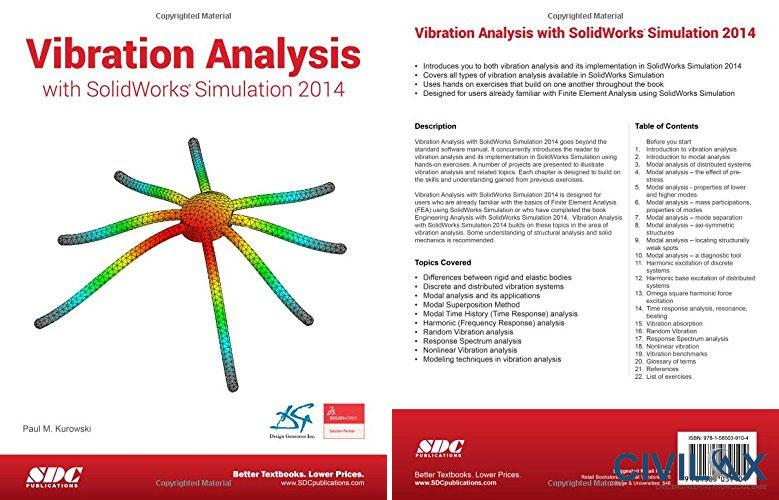 vibration analysis with solidworks simulation 2014 civil rh civilax com solidworks simulation training manual solidworks simulation theory manual