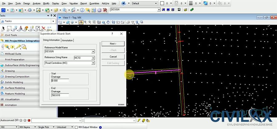 MX Road Design Tutorial - Civil Engineering Community