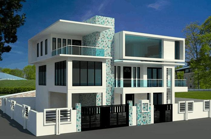 Revit house design tutorial revit simple house modeling for Civil engineering home design