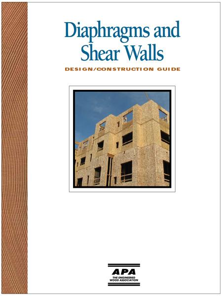 Shear Wall Design Xls : Diaphragms and shear walls design construction guide civil engineering community