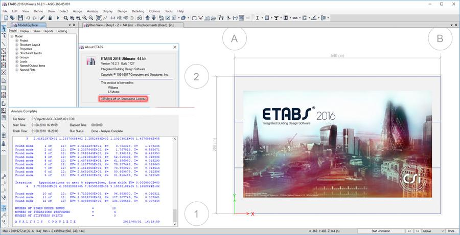 etabs system requirements