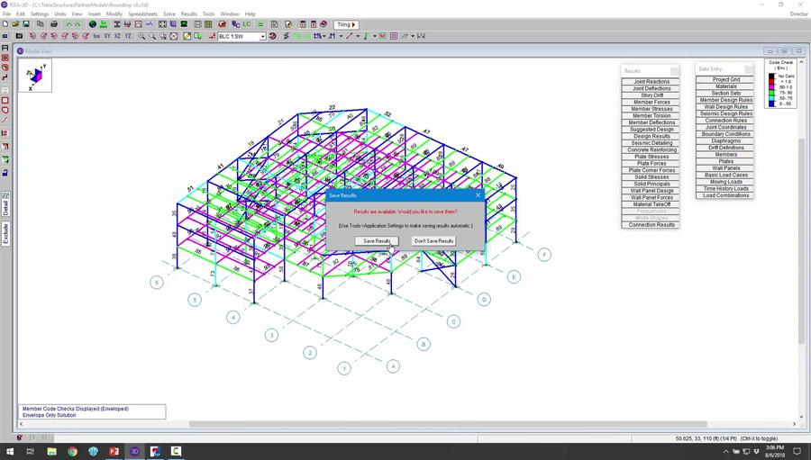 New Features in the RISA-Tekla Link v8