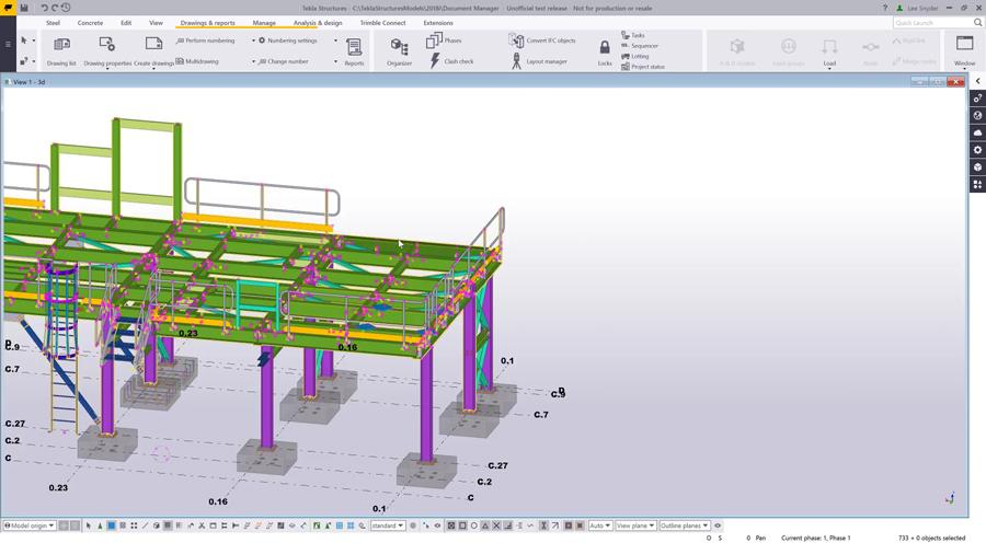 Tekla Structures Document Manager